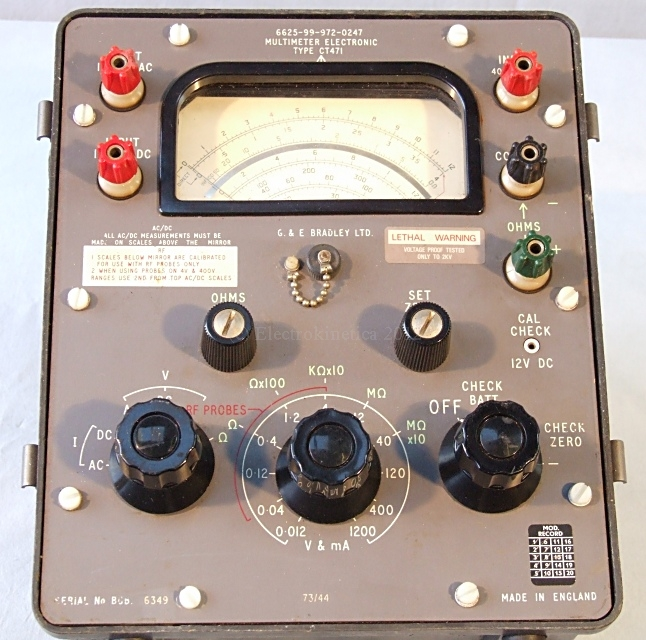 CT471 multimeter