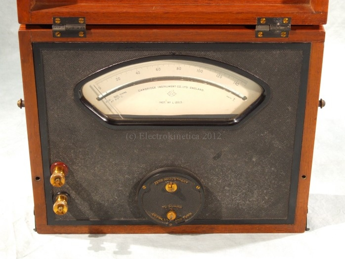 Cambridge milliammeter
