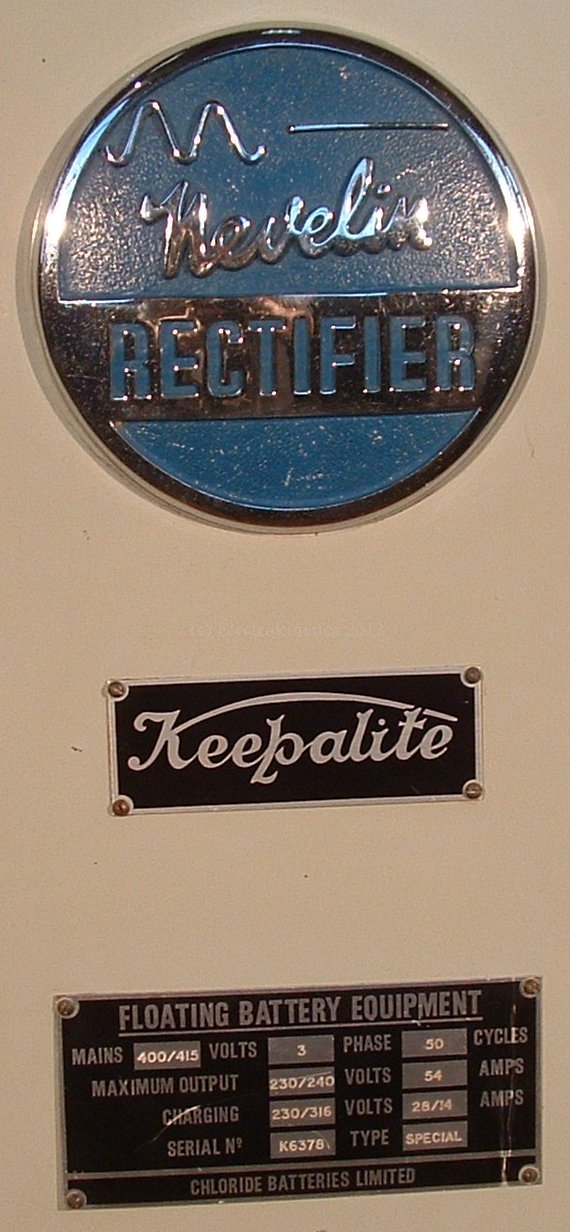 Keepalite rating plate